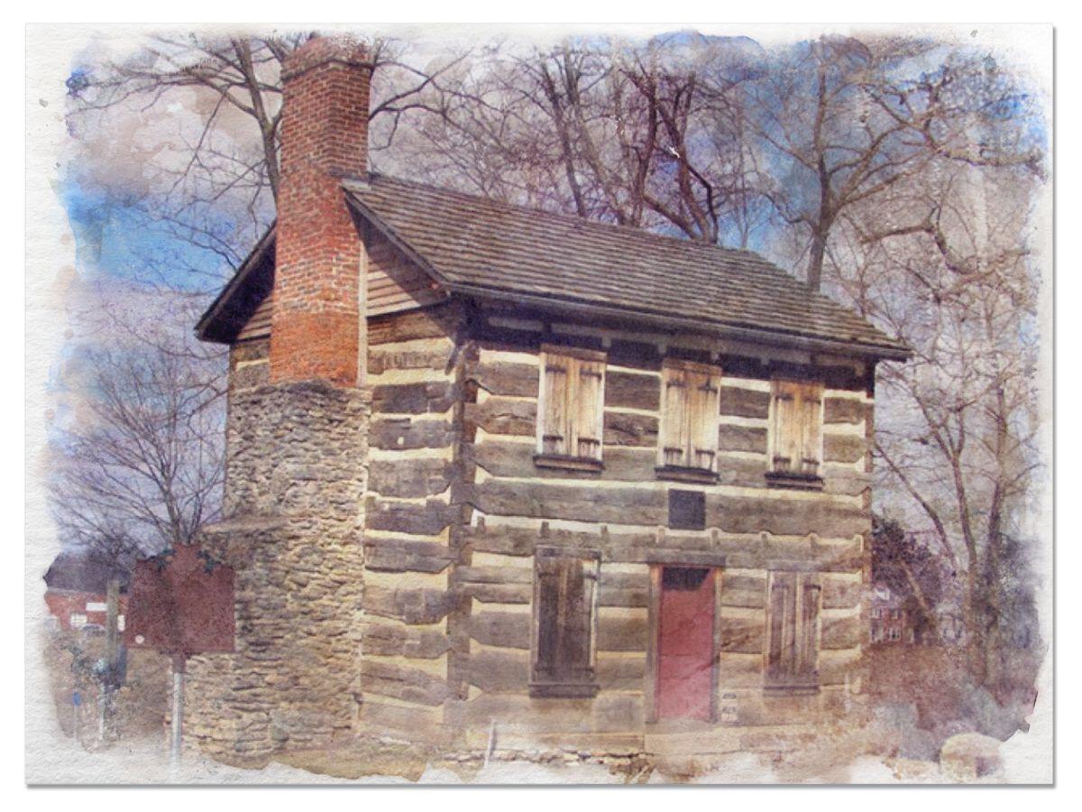 Log Post Office, Franklin